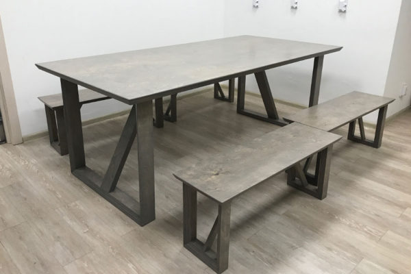 Мебель из фанеры. Кухня из фанеры. Стол из фанеры